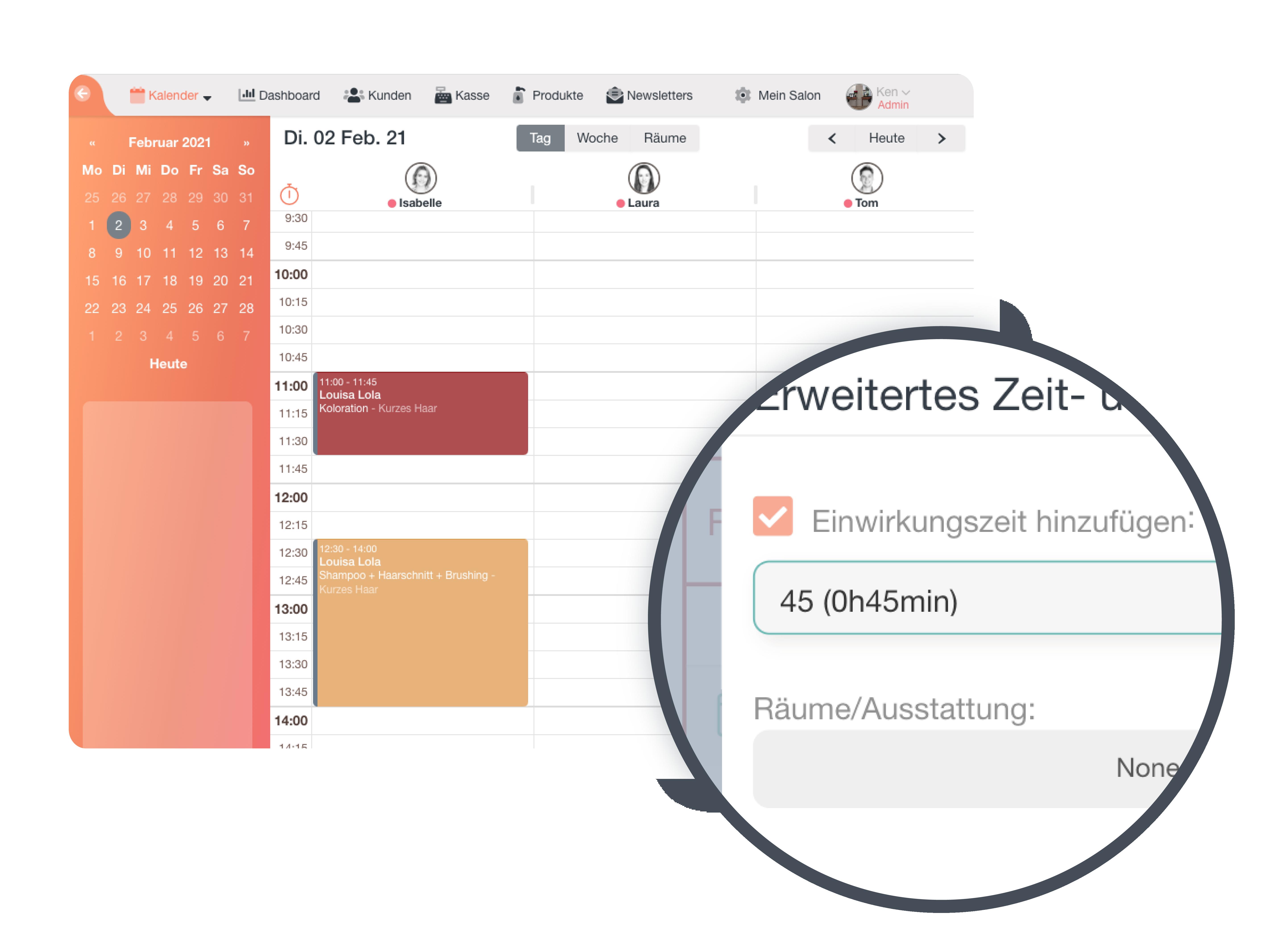 Online Terminkalender, Online-Terminkalender